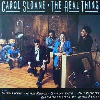 Carol Sloane The Real Thing NEW OVP Contemporary Records Vinyl LP