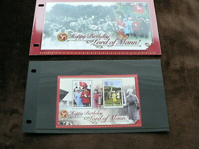 2006 Isle of Man Presentation Pack, Lord of Man £2 m/s, Queen Birthday MNH, Mint