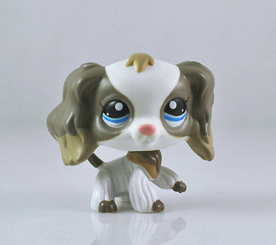 Pet Collection Child Girl Boy Figure Littlest Spaniel Dog Toy Loose LPS980