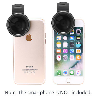 Neewer 37mm Clip-on ND 2-400 Cellphone Camera Lens Filter Kit f iPhone 7Plus 7 6