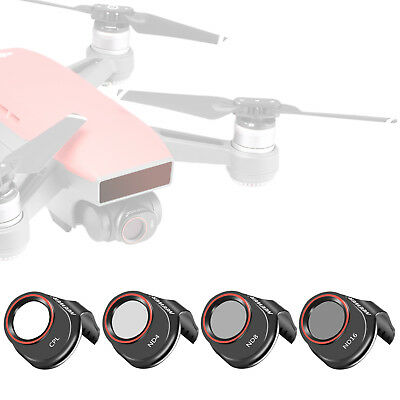 Neewer 4 Pieces Multi-coated Filter ND4 ND8 ND16 CPL Kit for DJI Spark Drone