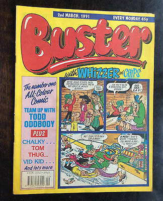 Buster Comic  2 March 1991. Fn+/vfn.
