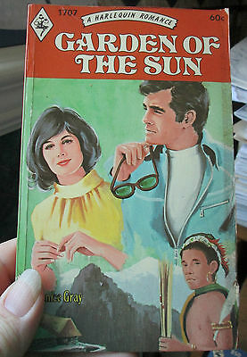 Garden of the Sun Janice Gray Vintage Harlequin Romance #1707