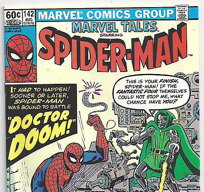 The AMAZING SPIDER-MAN #5 Reprint in Marvel Tales #142 from Aug. 1982 in Fine+