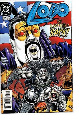 Lobo 62  Vf/nm 1999 Superbo Lobo As Superman Grant Low Print Luzniak