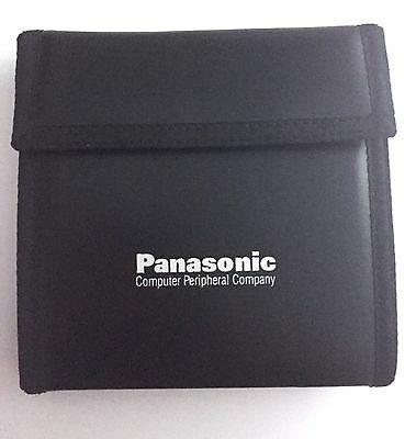 Panasonic Computer Peripheral Company CD DVD Travel Case Carry Case Wallet 10
