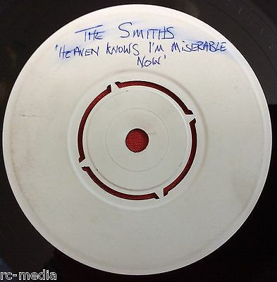 """The Smiths -Heaven Knows I'm Miserable Now- Rare 7"""" Test Pressing (Vinyl Record)"""