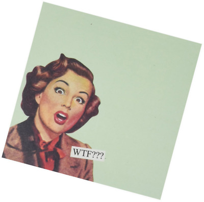 "ANNE TAINTOR 73584 ""WTF"" Sticky Notes"