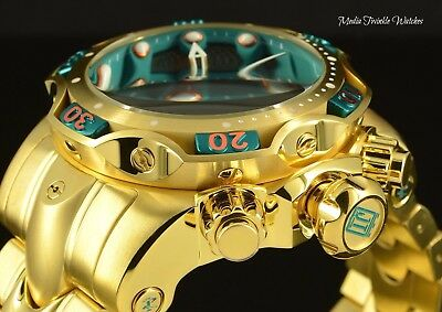 Invicta Reserve 52mm JT Hall of Fame Gold ToneVenom Ltd Quartz Chronograph Watch