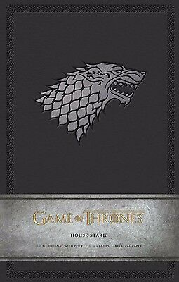 Game of Thrones: House Stark Hardcover Ruled Journal (Insights)  #soct17-377