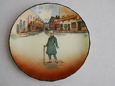 ROYAL DOULTON  DICKENS WARE PLATE - MR. MICAWBER -10.5cm - see my other plate