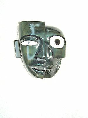 Duality Mask  Rainbow Obsidian Stone  New. Life & Death Together.