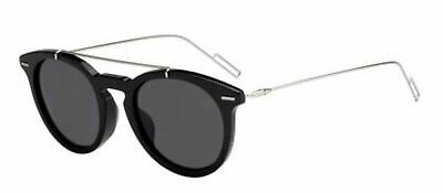 f8183971b8c4 Authentic Christian Dior Homme MASTER F S 807 IR Black Silver Sunglasses