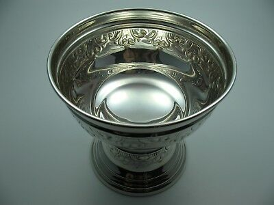 Gorgeous Very Great Old Wine Cup of 800 Silver