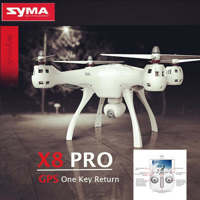 SYMA X8PRO GPS Return Drone WiFi FPV Real-time 720P Camera Quadcopter Helicopter