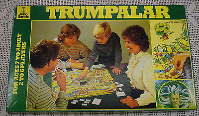 TRUMPALAR Boardgame COMPLETE Excellent Cond TRUMP Board Game 1983