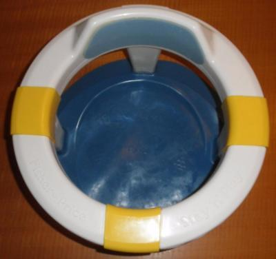 Fisher Price Stay 'n' Play Baby Bath Ring Seat Suction Cup Base