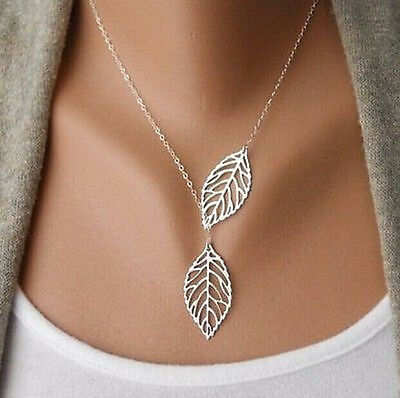 Women Lady Girls Silver Jewelry Chain Pendant Crystal Choker Bib Necklaces Stock