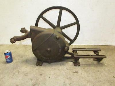 Antique Vintage F.E. Myers & Bros. Cast Iron Windmill Water Pump Jack Ashland OH