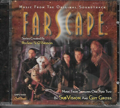 Farscape Television Series Seasons 1 and 2 Music Soundtrack CD GNP NEW SEALED