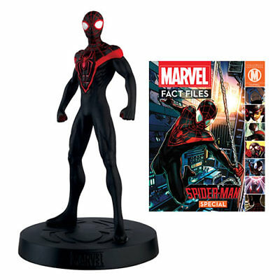 MARVEL FACT FILES SPECIAL #27 MILES MORALES SPIDER-MAN W/ MAGAZINE #soct17-433