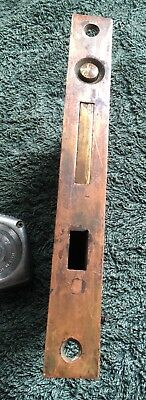 RARE- CORBIN ANTIQUE-VINTAGE-OLD -Victorian Eastlake Pocket Door LOCK