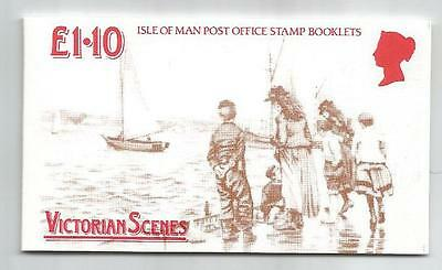 Isle Of Man 1987 £1.10 Victorian Douglas Booklet Sb17