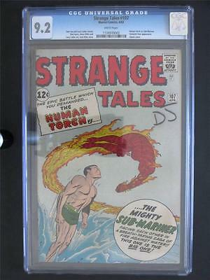 Strange Tales #107 MARVEL 1963 -NEAR MINT- CGC 9.2 NM- Human Torch & Sub-Mariner