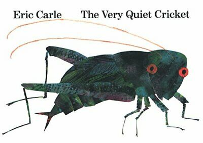 The Very Quiet Cricket: Board Book by Carle, Eric Hardback Book The Fast Free