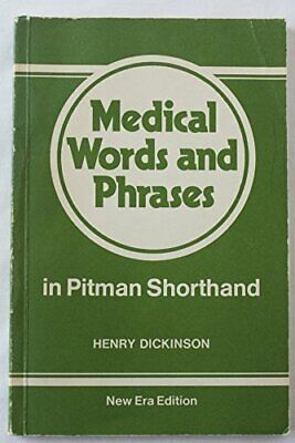 Pitmans english and shorthand dictionary based on the original medical words and phrases in pitmans shorthand by dickinson henry book the fandeluxe Choice Image