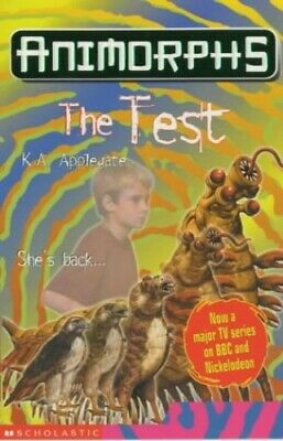 The Test (Animorphs) by Applegate, Katherine Paperback Book The Fast Free