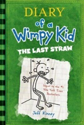 The Last Straw: Diary of a Wimpy Kid by Jeff Kinney Book The Fast Free Shipping