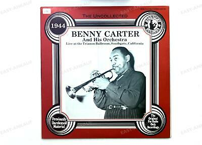 Benny Carter-The Uncollected Benny Carter And His Orchestra -1944 US LP 1985 /3