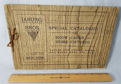 1910 Fully Illustrated Sales Catalog Jaburg Bros Store Fixtures Show Cases More