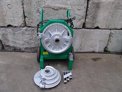 "Greenlee 555 Bender 1/2-2"" Inch Rigid Pipe Electric Bender Nice!"