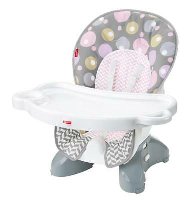 New Fisher-Price SpaceSaver High Chair Seat Pad - Brilliant Blush Model:E8512544