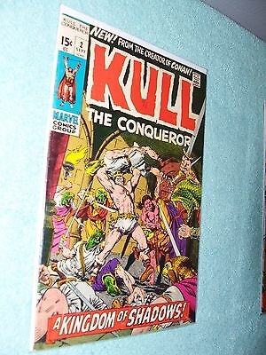 KULL the CONQUEROR  ,   NO. 2  , by   MARVEL  COMICS ,