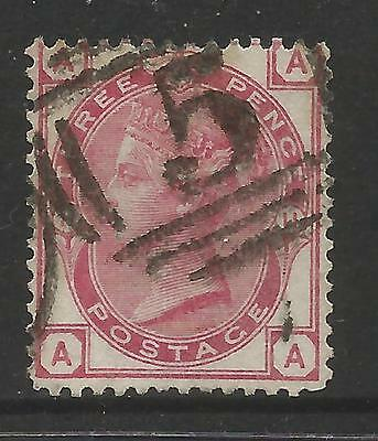 GREAT BRITAIN 1873 3d PALE ROSE , WMK 33, Plate 11,S.G 144,USED (o)