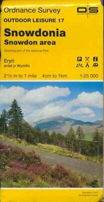 Outdoor Leisure Map 017: Snowdonia - Sno... by Ordnance Survey Sheet map, folded