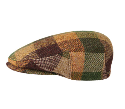 eb72026c594 STETSON 100% LAMBSWOOL Check Pattern Hatteras Bakerboy Cap - EUR 80 ...