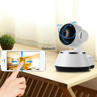 IP Wireless WIFI Baby Monitor Video Camera Night Vision For iPhone Android 720P#