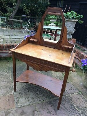 An attractive and unusual old French dressing table- late 1800s