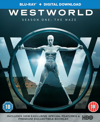 Westworld: Season One - The Maze Blu-Ray (2017) Evan Rachel Wood cert 18 3