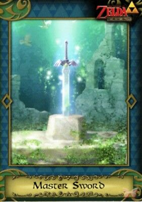 Legend of Zelda The 2016 Enterplay Trading Card 82 Master Sword A Link Between W