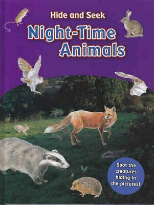 Hide & Seek Night-Time Animals Book The Fast Free Shipping