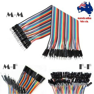 40 pcs Dupont Cable 20cm Jumper Wire Arduino Paspberry Pi breadboard Male Female