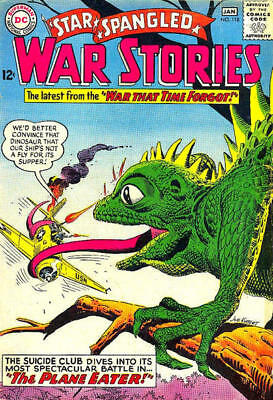 STAR SPANGLED WAR STORIES #118 G, Dinosaurs That Time Forgot, DC Comics 1965