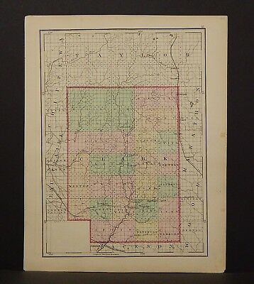 Wisconsin Clark or Buffalo County 1876 Single Special Price L15#09