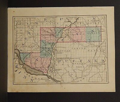 Wisconsin Pepin or Eau Claire County 1876 Single Special Price L15#11