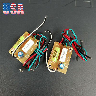 2PCS 4-8 Ohms 2 Way Crossover Filters Two Speaker System Audio Frequency Divider